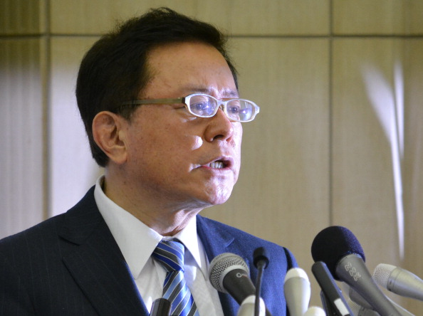 Naoki Inose announces his resignation this morning in a move which could negatively impact Tokyo 2020 ©AFP/Getty Images