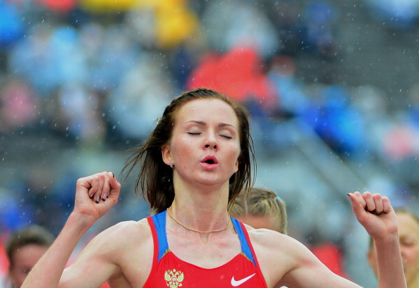 Russian Olga Golovkina is set to be awarded the Kazan 2013 Universiade 5,000 metres gold despite being exposed as a drugs cheat ©Getty Images