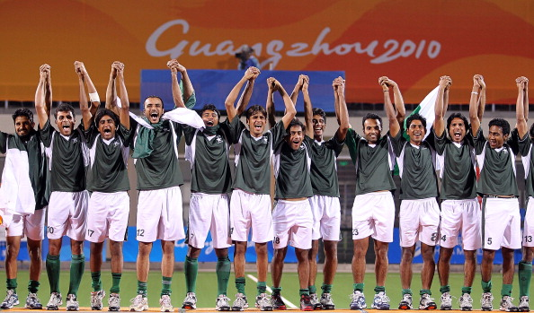Pakistan's men's hockey team may not be able to defend their Asian Games title due to an internal dispute ©Getty Images