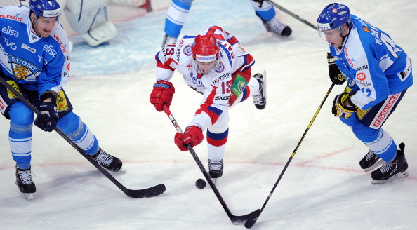 Russia will be looking to defend their Channel One Cup title ©Getty Images