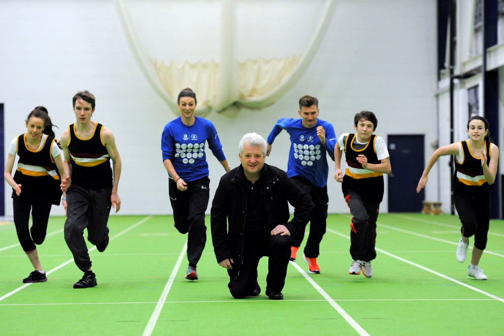 Scotland's track and field athletes will train at the Ayrshire Athletics Arena ahead of Glasgow 2014 ©Mike Scott