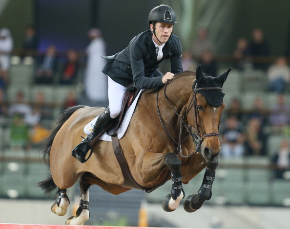 Scott Brash has topped the jumping world rankings ©AFP/Getty Images