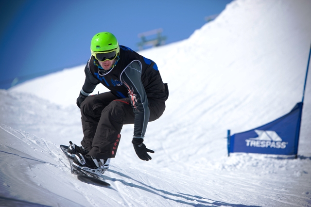 Snowboarder Kyle Wise will be looking to make an impression at Trentino 2013 which gets underway next week ©Kyle Wise