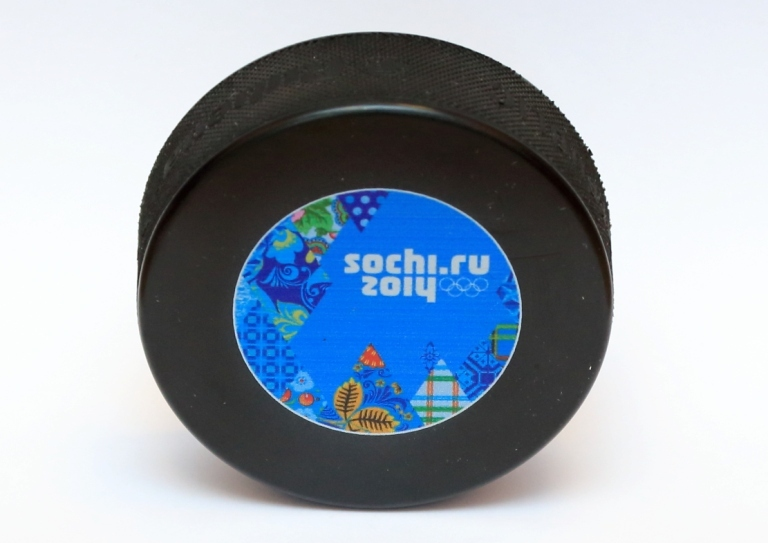 Sochi 2014 has unveiled the official Olympic and Paralympic ice hockey pucks ©Sochi 2014
