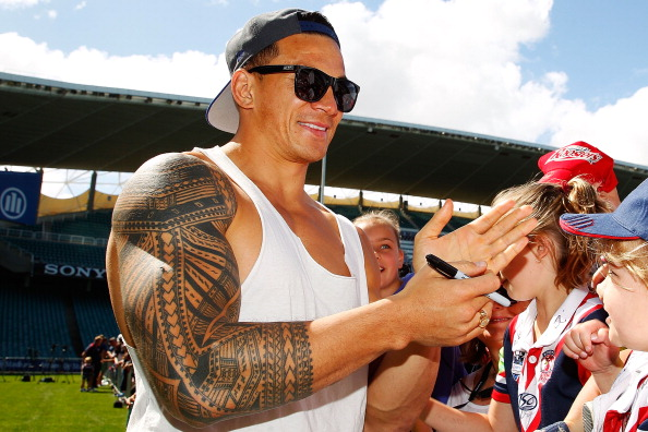 Sonny Bill Williams is a controversial figure who would certainly add some colour to the Athletes Village in Rio ©Getty Images