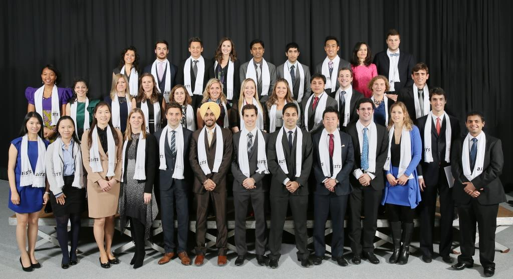 The graduating class of 2013 came from all over the world and are set for a bright future in sports administration ©AISTS