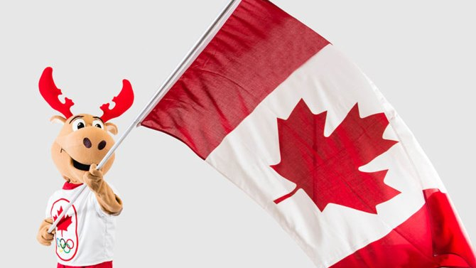 The Canadian Olympic Committee has unveiled Komak the moose as Canada's official mascot for the 2014 Sochi Winter Games ©COC
