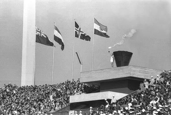 The Olympic cauldron used at the 1964 Tokyo Games will be preserved at the new national Stadium being built for the 2020 Games ©Getty Images