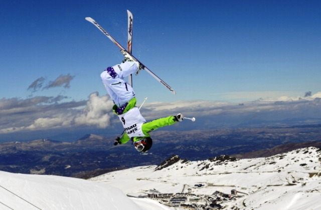 The Sierra Nevada mountains in southern Spain will form the backdrop for Granada 2015 and have hosted numerous international skiing and snowboarding events ©AFP/Getty Images