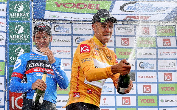 The abnormal readings relate to the 2012 season, and culminated in victory at the 2012 Tour of Britain ©Getty Images