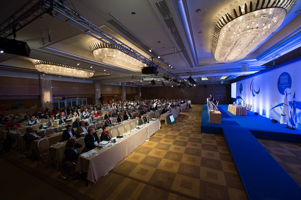 The importance of the work of the Agitos Foundation was highlighted at the IPC General Assembly in Athens last month ©George Santamouris