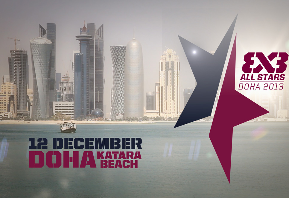 The inaugaral FIBA 3x3 All Stars event is due to get underway in Doha, Qatar tomorrow ©FIBA