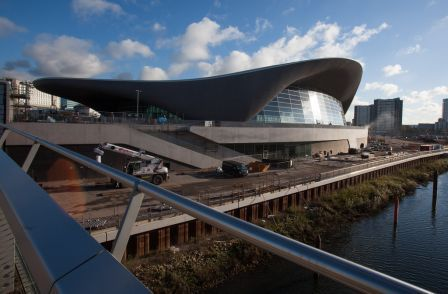 The revamped London Aquatics Centre ©London Legacy Development Corporation