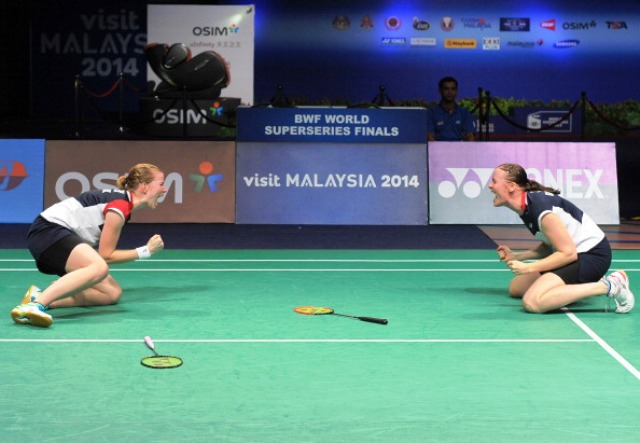 This year's BWF World Superseries Finals took place in Kuala Lumpur, where Denmark's Christinna Pedersen and Kamilla Rytter Juhl were among the winners ©AFP/Getty Images