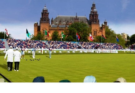 Tickets are still available for events at Glasgow 2014 including lawn bowls at the Kelvingrove Lawn Bowls Centre ©Glasgow 2014