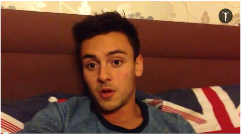 Tom Daley used YouTube to announce that he was in a relationship with a man ©tomdaley.tv