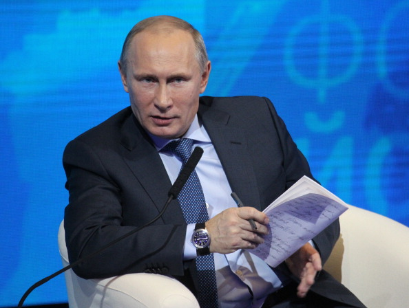 Vladimir Putin's decision to close RIA Novosti raises fears over media censorship in Russia ©Getty Images