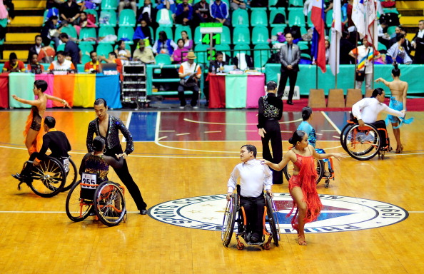 Wheelchair dance sport is a discipline growing in popularity...with Eastern European competitors currently leading the way ©Getty Images