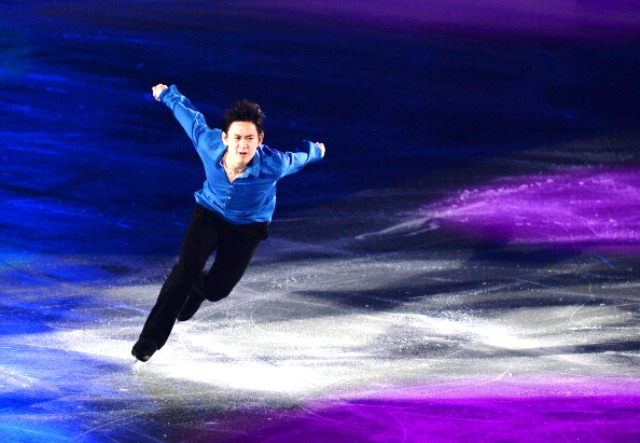 World Championship silver medallist Denis Ten had to pull out of competition in Trento due to an injury in the warm-up ©Getty Images