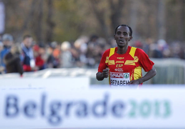 Spain's Alemayehu Bezabeh regained the European Cross Country title less than a year after returning from a doping ban ©Getty Images