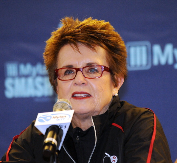Openly gay former tennis player Billie Jean King will be part of the US delegation at Sochi 2014 ©Getty Images