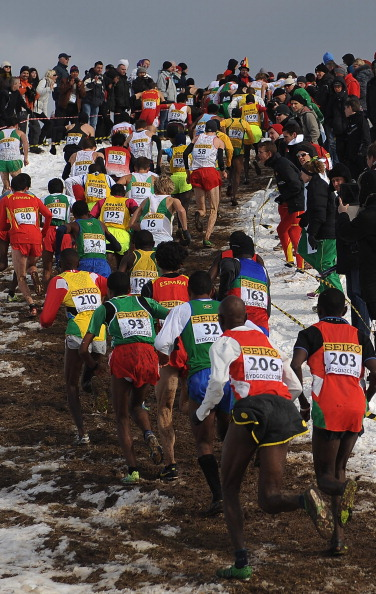 African runners have dominated the World Cross Country Championships, including this year's event in Bydgoszcz where Kenya and Ethiopia won every gold medal ©Getty Images