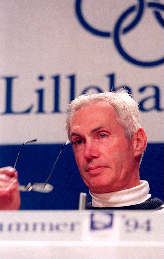 Harvey Schiller was executive of the United States Olympic Committee between 1989 and 1994 ©AFP/Getty Images
