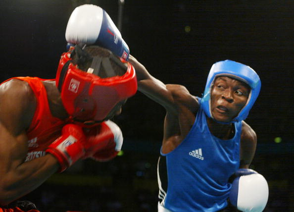 Zambia has not won an Olympic or Commonwealth Games medal since Manchester 2002 when boxer Kennedy Kanyanta claimed gold in the men's flyweight ©AFP/Getty Images