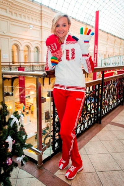 Russia kit's kit for Sochi 2014 is less garish than the one at London 2012 but is still distnictive ©BoscoSport