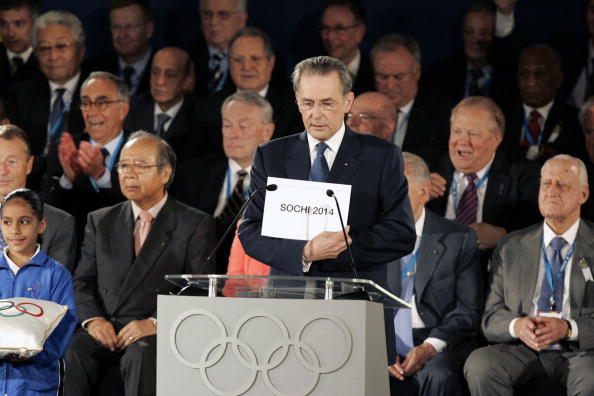 The decision to award Sochi the 2014 Winter Olympics was always a controversial one ©AFP/Getty Images