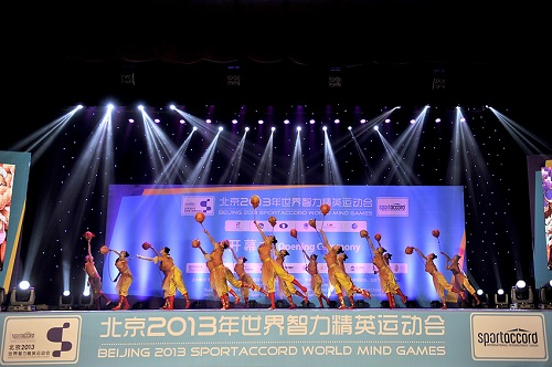Music and dance helped open SportAccord World Mind Games in Beijing today ©SportAccord