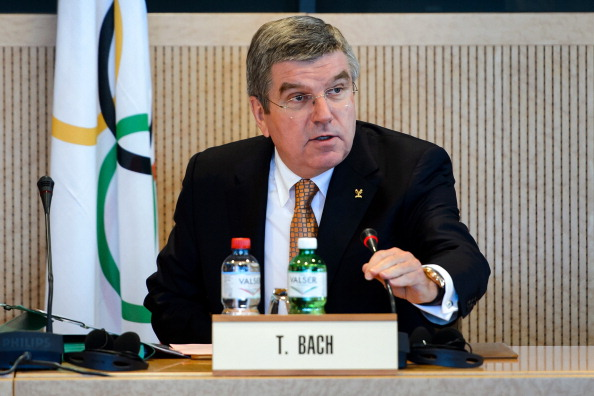 IOC President Thomas Bach today warned India that their Olympic suspension would not be lifted before Sochi 2014 ©AFP/Getty Images
