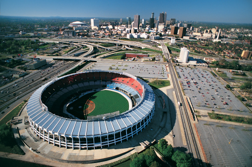 Turner Field, the Centennial Olympic Stadium built for Atlanta 1996, is set to be pulled down after the local baseball club announced they were quitting ©Getty Images