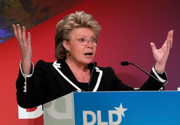 """European Union Commissioner Viviane Reding has claimed she will not go to Sochi 2014 """"as long as minorities are treated the way they are under the current Russian legislation"""" ©Getty Images"""