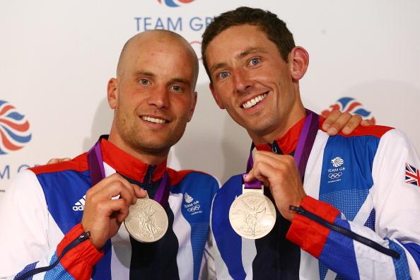 London 2012 silver medallists David Florence and Richard Hounslow have both made the Lee Valley White Water Centre their new training base ©Getty Images