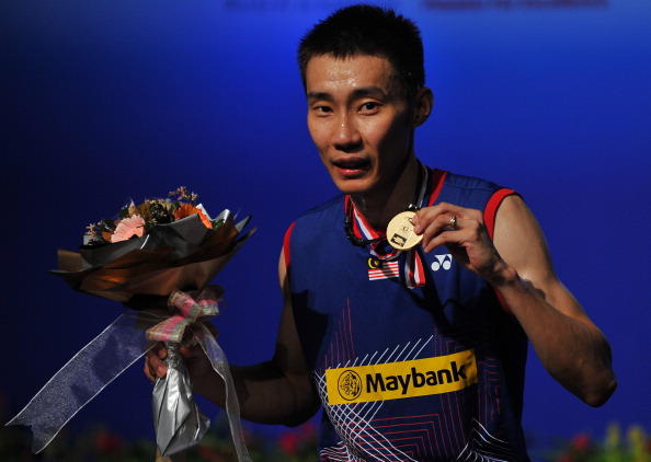 Lee Chong Wei tops the list of badminton's highest earners in 2013 ©Getty Images