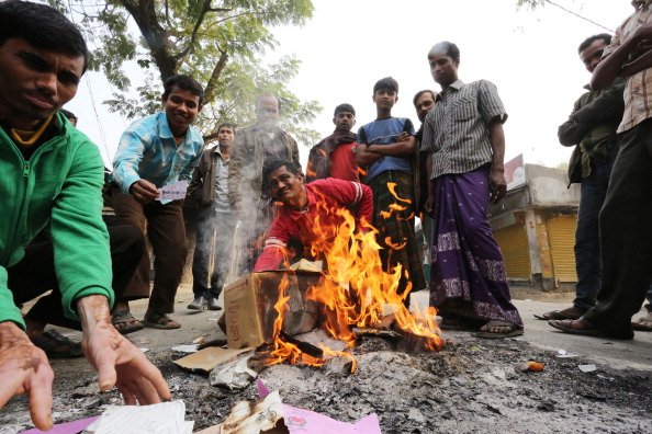 The tournament was in jeopardy following civil unrest in Bangladesh which saw opposition activists burning polling material during the general election on Sunday ©Getty images