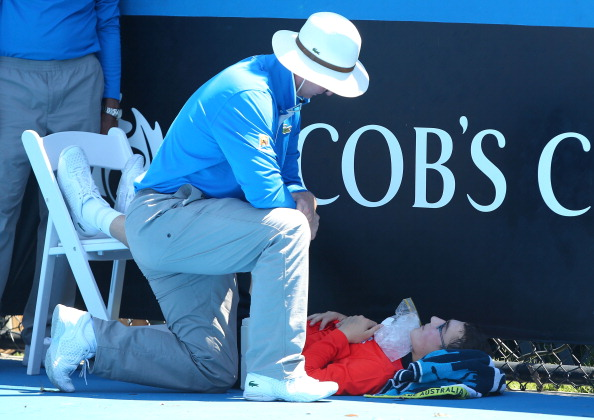 Organisers of the Australian Open have been widely criticised after failing to suspend matches during the searing heats ©Getty Images