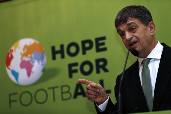 Jerome Champagne has announced the launch of his bid for the 2015 FIFA Presidency ©Getty Images