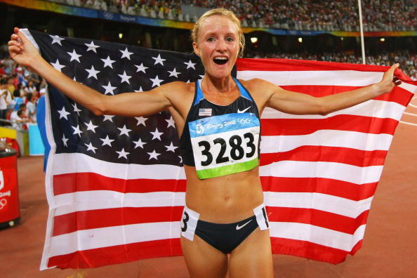Shalane Flanagan claimed a bronze medal in the 10,000m at the 2008 Beijing Olympics ©Getty Images