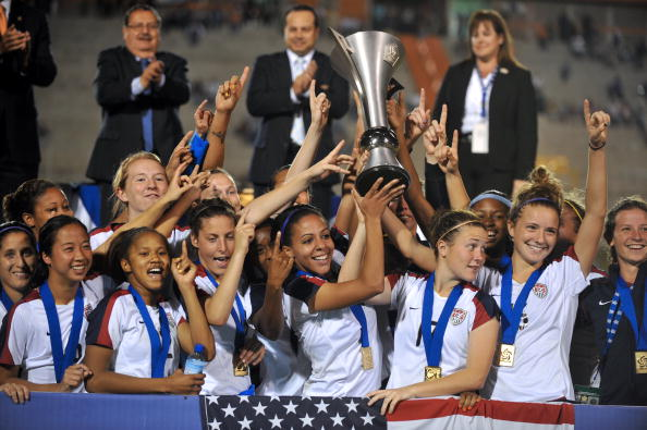 The United states have won the 2014 CONCACAF Women's Under-20 Championships ©Getty Images