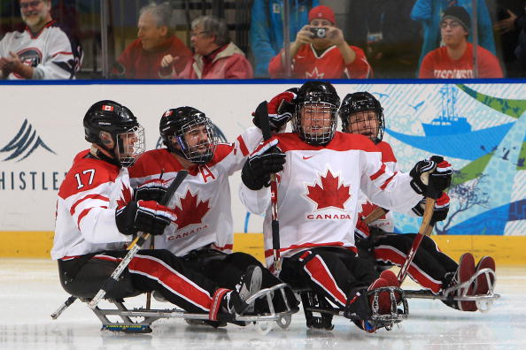 Canada has unveiled its 17-man ice sledge hockey squad ahead of the 2014 Sochi Winter Paralympics ©Getty Images