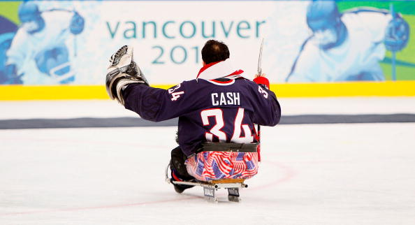 Steve Cash's 10 saves in the second game and 12 in the third was key to America's win in this three-day series ©Getty Images