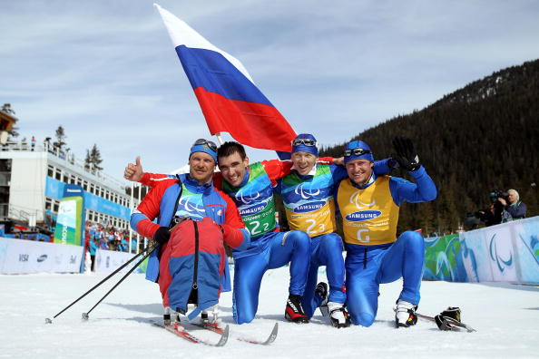 Russia swept the board in the biathlon races at the IPC Nordic Skiing World Cup, winning all six medals on offer today ©Getty Images