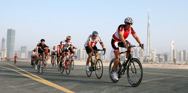 A new three race cycling series will take place in Dubai this year ©Promoseven Sports Marketing
