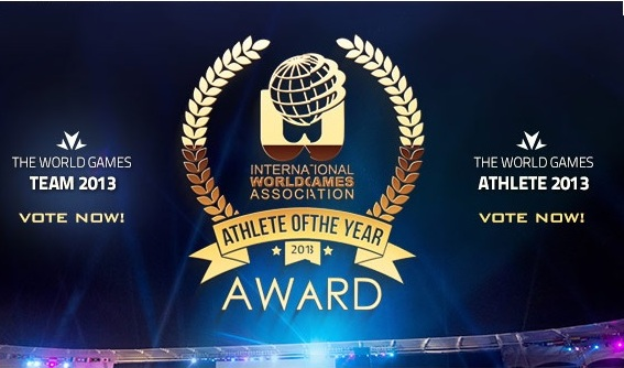 IWGA has opened the vote for the Athlete and Team of the Year awards ©IWGA