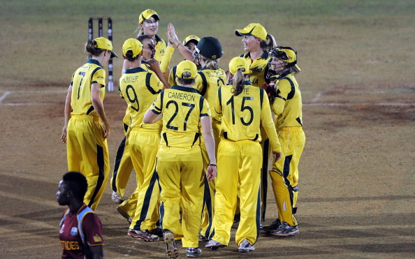 Australia won the last Women's World Cup in India. ©AFP