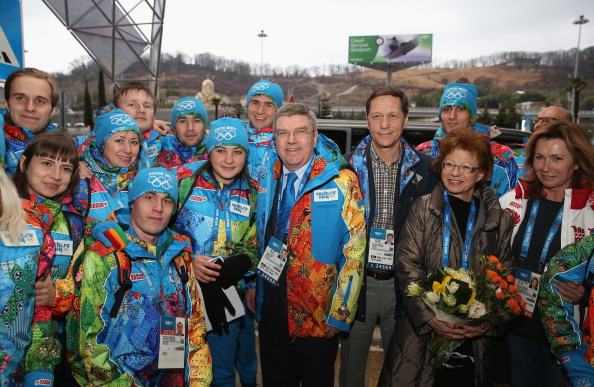 IOC President Thomas Bach has arrived in Sochi ahead of the Winter Olympics ©Getty Images