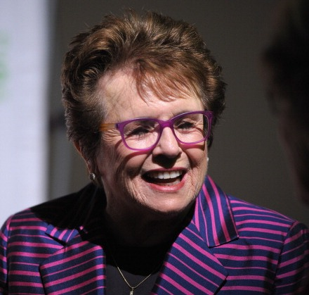 Billie Jean King is one of the three openly gay figures leading the US delegation to Sochi 2014 ©Getty Images