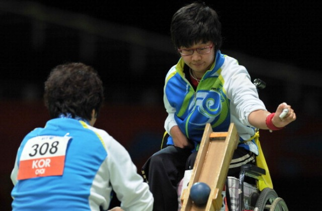 Boccia has been part of the Paralympic Games programme for 30 years after making its debut at New York 1984 ©AFP/Getty Images